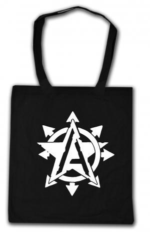 Baumwoll-Tragetasche: Anarchy Star