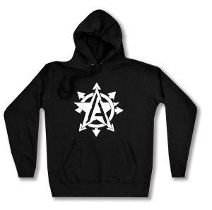 taillierter Kapuzen-Pullover: Anarchy Star