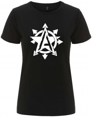 tailliertes Fairtrade T-Shirt: Anarchy Star