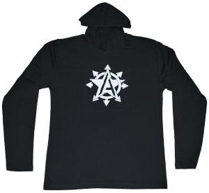 Kapuzen-Longsleeve: Anarchy Star