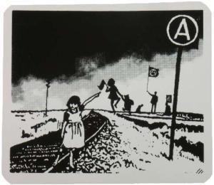 Aufkleber: Anarchy Zone