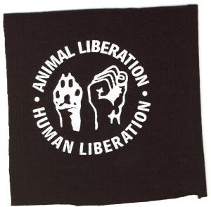 Aufnäher: Animal Liberation - Human Liberation