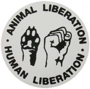 Aufkleber: Animal Liberation - Human Liberation