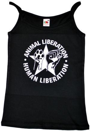 Trägershirt: Animal Liberation - Human Liberation (mit Stern)
