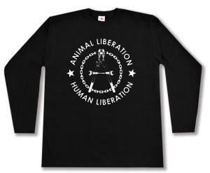 Longsleeve: Animal Liberation - Human Liberation (Zange)