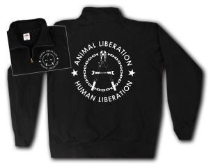 Sweat-Jacket: Animal Liberation - Human Liberation (Zange)