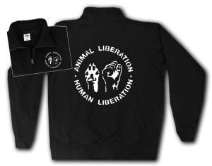Sweat-Jacket: Animal Liberation - Human Liberation