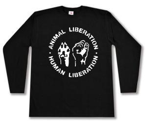 Longsleeve: Animal Liberation - Human Liberation