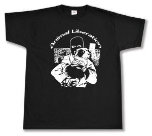 T-Shirt: Animal Liberation (Hund)