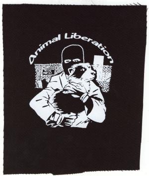 Aufnäher: Animal Liberation (Hund)