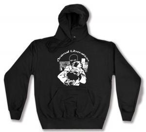 Kapuzen-Pullover: Animal Liberation (Hund)