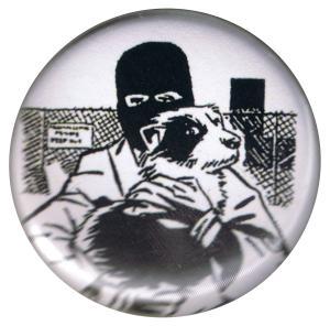 37mm Button: Animal Liberation (Hund)