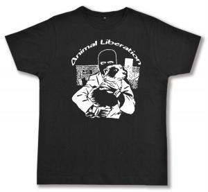 Fairtrade T-Shirt: Animal Liberation (Hund)