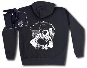 Kapuzen-Jacke: Animal Liberation (Hund)