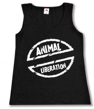 Woman Tanktop: Animal Liberation