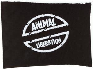 Aufnäher: Animal Liberation