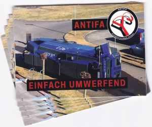 Aufkleber-Paket: Antifa - einfach umwerfend