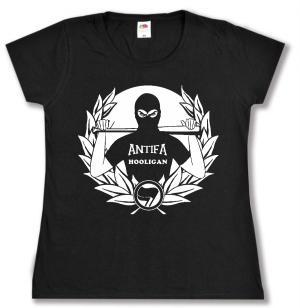 tailliertes T-Shirt: Antifa Hooligan