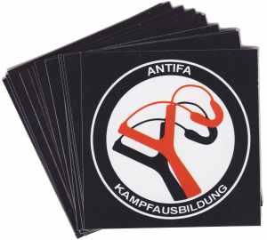 Aufkleber-Paket: Antifa Kampfausbildung