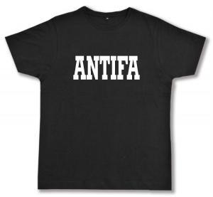 Fairtrade T-Shirt: Antifa Schriftzug