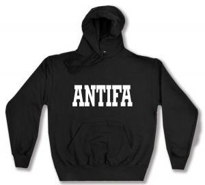Kapuzen-Pullover: Antifa Schriftzug