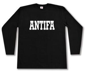 Longsleeve: Antifa Schriftzug