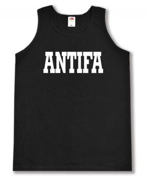 Tanktop: Antifa Schriftzug