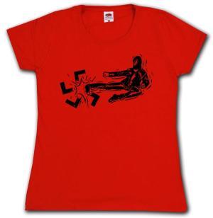 Girlie-Shirt: Antifa