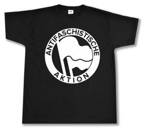 T-Shirt: Antifaschistische Aktion (1932, weiß)