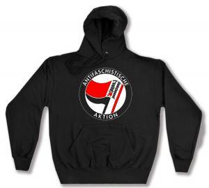Kapuzen-Pullover: Antifaschistische Aktion - linksjugend [´solid]