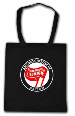 Baumwoll-Tragetasche: Antifaschistische Aktion Linksjugend