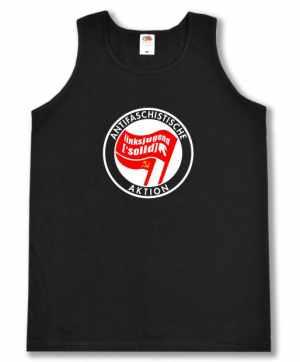 Man Tanktop: Antifaschistische Aktion Linksjugend