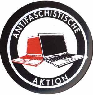 37mm Button: Antifaschistische Aktion (Notebooks)