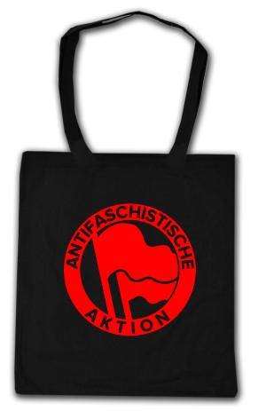 Baumwoll-Tragetasche: Antifaschistische Aktion (Original von 1932)