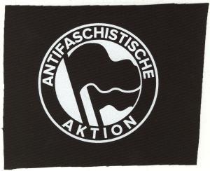 Aufnäher: Antifaschistische Aktion (Original von 1932)