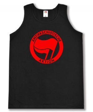 Tanktop: Antifaschistische Aktion (rot/rot)