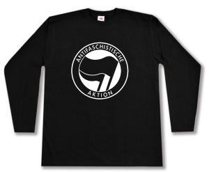 Longsleeve: Antifaschistische Aktion (schwarz/schwarz)