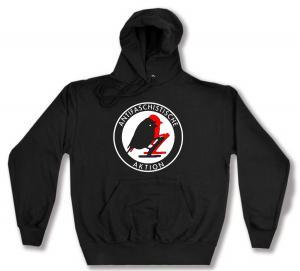 Kapuzen-Pullover: Antifaschistische Aktion - Vögel