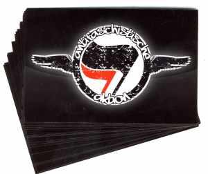 Aufkleber-Paket: Antifaschistische Aktion