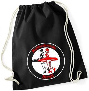 Sportbeutel: Antifaschistische Dirndl