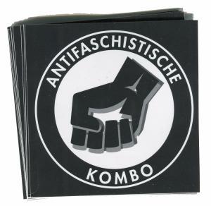 Aufkleber-Paket: Antifaschistische Kombo