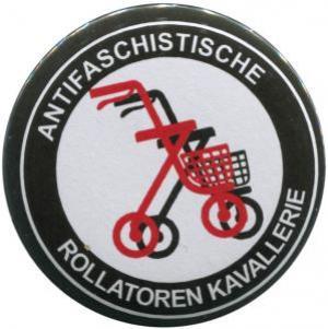 37mm Button: Antifaschistische Rollatoren Kavallerie