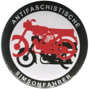 25mm Magnet-Button: Antifaschistische Simsonfahrer