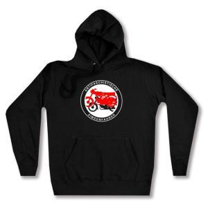 taillierter Kapuzen-Pullover: Antifaschistische Simsonfahrer