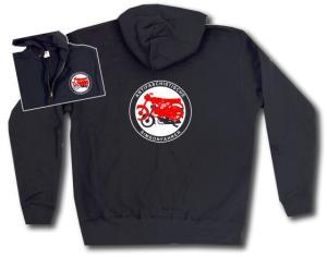 Kapuzen-Jacke: Antifaschistische Simsonfahrer
