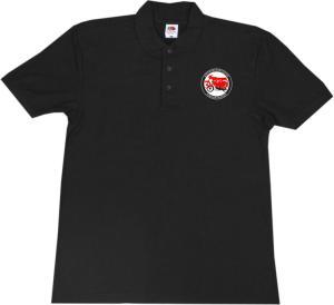 Polo-Shirt: Antifaschistische Simsonfahrer