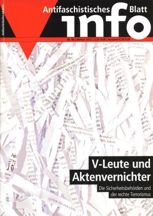 Zeitschrift: Antifaschistisches Infoblatt Nr. 96