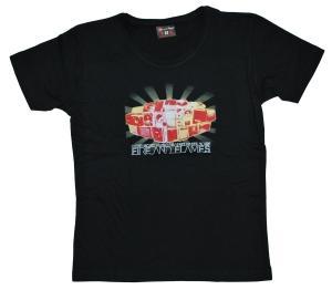 tailliertes T-Shirt: Antifascist Music Against White Noise