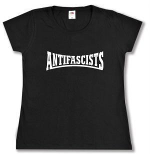tailliertes T-Shirt: Antifascists