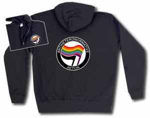 Kapuzen-Jacke: Antiheteronormative Aktion